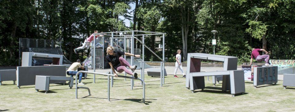 DASH Parkour in Den Haag (1)
